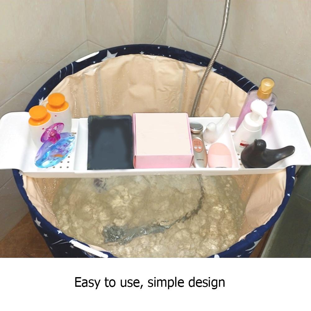 Telescopic Drain Bathtub Rack, Bathroom, Plastic Bath Basin, Rack, Bathtub, Kitchen Sink, Bath And Storage Rack