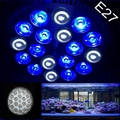 5pcs LED Lamp E27 18W 18X1W 12Blue 6White LED Coral Reef Grow Light High Power Fish Tank Aquarium Light Lamp LED Bulbs 85V-265V