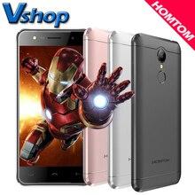 Оригинальный Doogee HOMTOM HT37 3 г Мобильные телефоны Android 6.0 2 ГБ Оперативная память 16 ГБ Встроенная память 4 ядра смартфон 5.0 дюймов 8MP Камера Dual Sim сотовый телефон