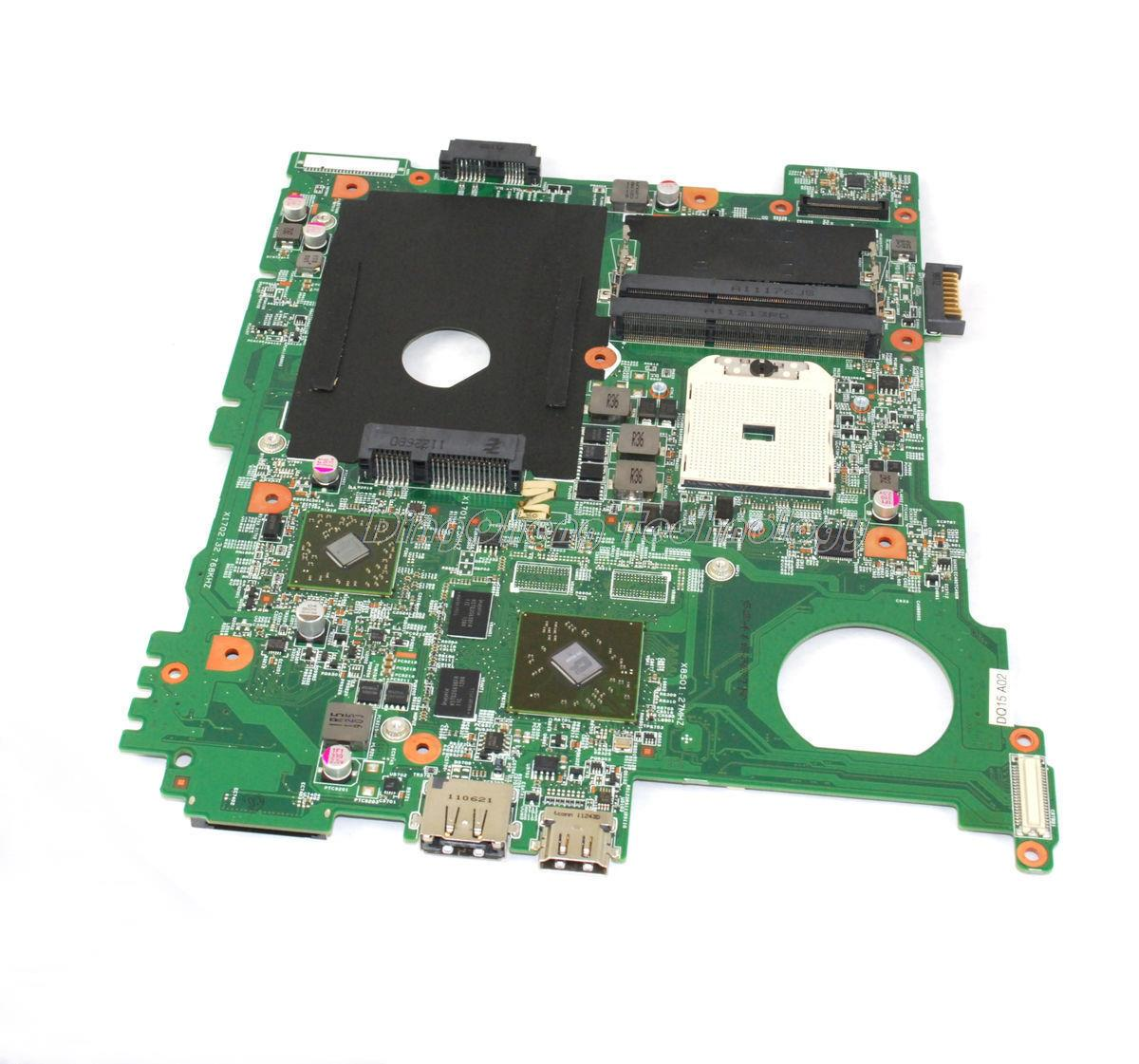 SHELI laptop Motherboard/mainboard for dell inspiron M5110 for AMD cpu with 4 video chips non-integrated graphics card dell inspiron 3558