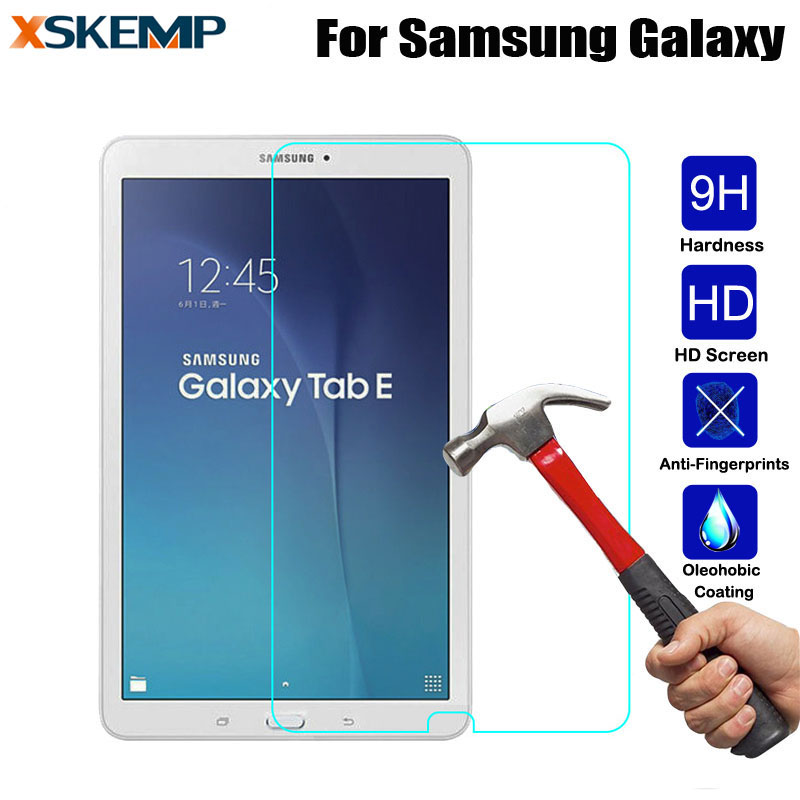 Tempered Glass 9H 0.3mm For Samsung Galaxy Note 10.1 N8000 N8010 N5100 Tab 3 P5200 T111 T211 T230 Tablet Screen Protector Film