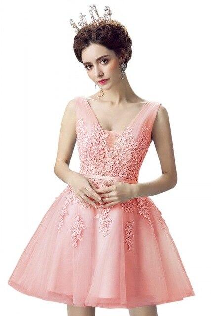 New-Evening-Dresses-2019-A-Line-Lace-Appliques-Lace-Up-Back-V-Neck-Short-Evening-Dress.jpg_640x640 (1)