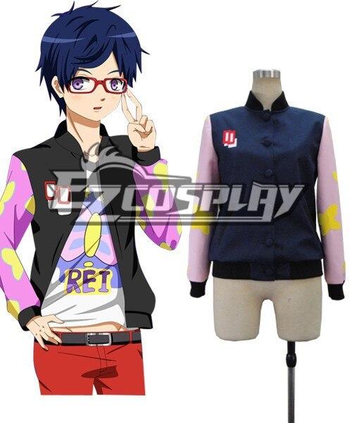 Бесплатная! Ed Рей Ryugazaki Косплэй костюм E001