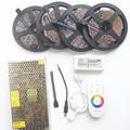 20M 15M 10M LED RGB led strip light SMD 3528 ip20 Fiexble Light 60LEDs/M led tape DC12V+12V Adapter Power+RF controller
