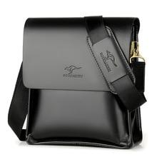 Горячо! Брендовая Высококачественная кожаная сумка-мессенджер, модная мужская сумка через плечо, деловая сумка через плечо, повседневный портфель