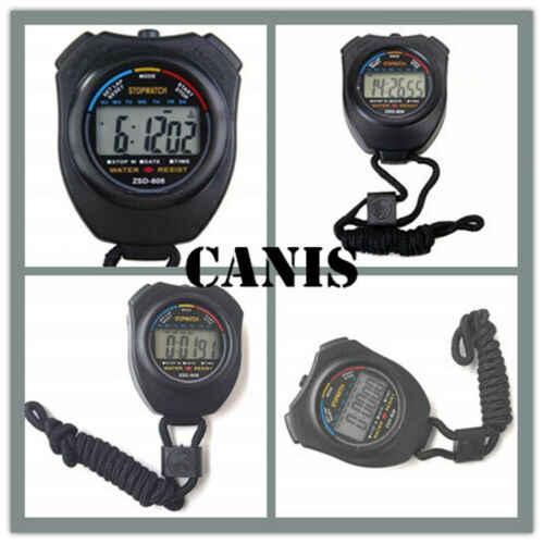 Chronomètre sportif tenu dans la main numérique chronomètre chronomètre réveil minuterie UK