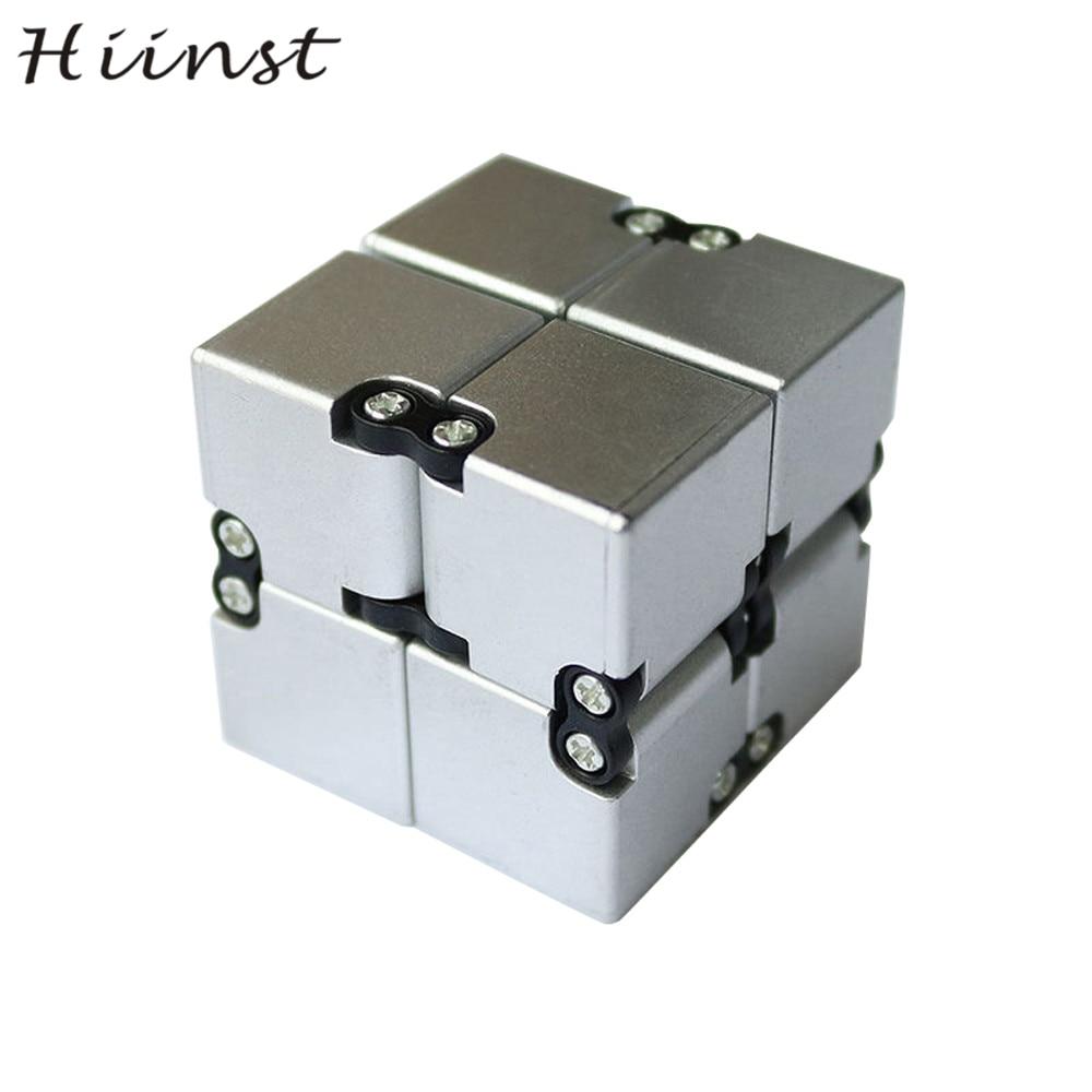 HIINST EDC Unendlichkeit Cube Mini Für Stressabbau Zappeln Anti Angst  Stress Dekompression Magisches Quadrat AUG1540P