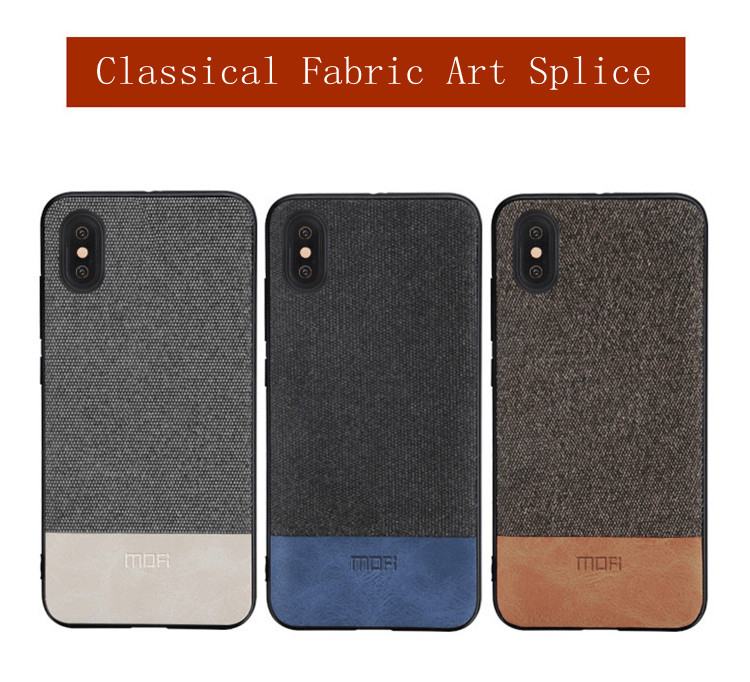 best service d6f0e 30352 US $8.69 13% OFF|MOFi case for iphonex case cover silicone edge shockproof  men business for apple x iphone x back cover for iphonex iphone x case-in  ...