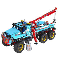 New Lepin 20056 Technic Series The Ultimate All Terrain 6X6 Remote Control Truck Set Building Blocks