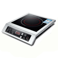 3500W Induction Cooker High power Commercial Stir fried Stove Hot Pot Soup Cook Touch Type Furnace Kitchen Cookware WFY L001