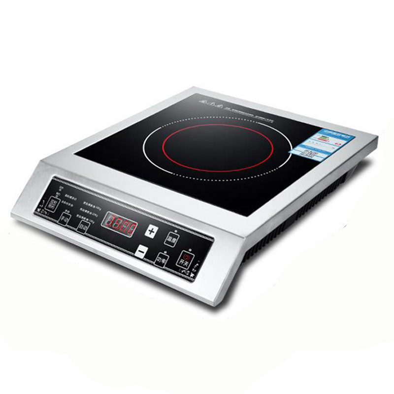Induction Cooker Electric Stove Commercial Panel Cooking Unit Stir-fried Stove Hot Pot Soup Furnace 3500W  High-power WFY-L001