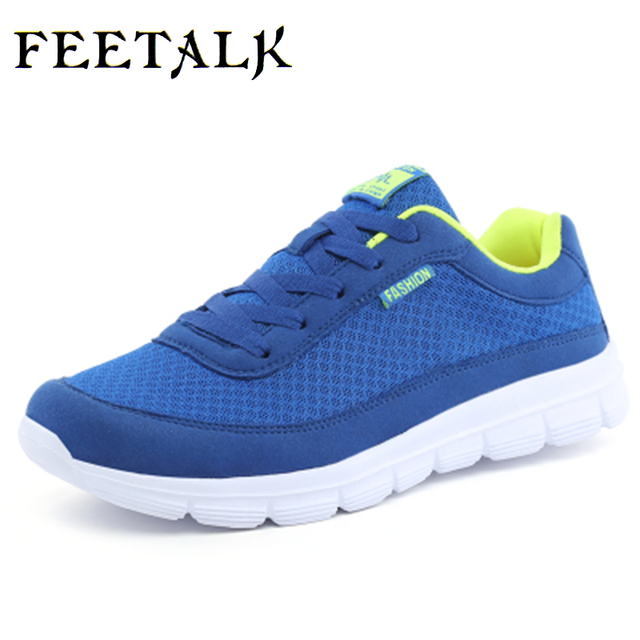 2017 New Unisex Mens Athelitic Shoes, Summer Breathable Mesh Sneakers For Men, Light Outdoor Sports Men's Running Shoes