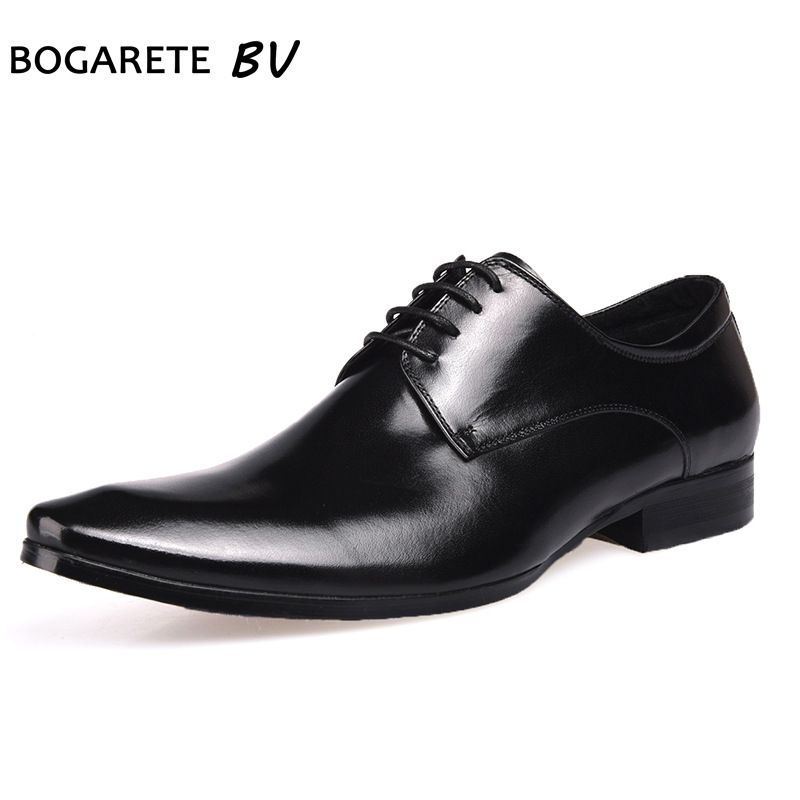 breathable comfortable lace business suit Genuine Leather wedding shoes mens all-match cowhide High Quality Business Men Shoesbreathable comfortable lace business suit Genuine Leather wedding shoes mens all-match cowhide High Quality Business Men Shoes