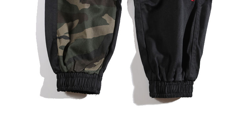 GONTHWID Camouflage Patchwork Side Pocket Cargo Harem Pants Mens Casual Jogger Streetwear Hip Hop 2020 Streetwear Trousers Male