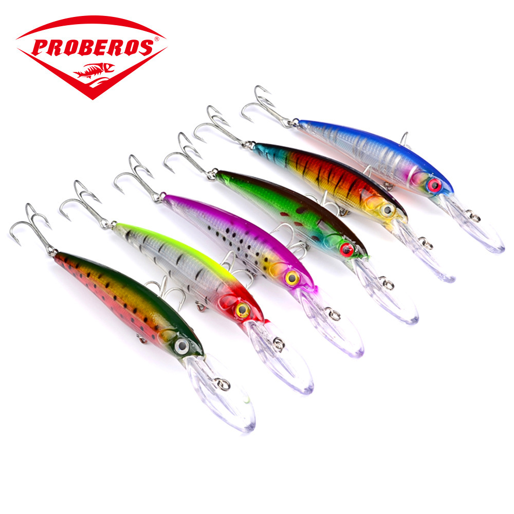 Minnow Fishing Lure Hard bait 165mm/33.4g Sinking deep dive 4.5m Wobbler Crankbait Hook 3D eye laser Sea fishing Isca Artificial fishing lure minnow crankbait artificial hard swim bait hook tackles 3d eyes new