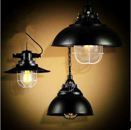 Luminaire retro rope lamp edison pendant light fixtures for Vintage lampen