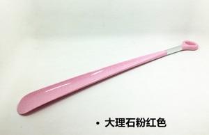 Image 4 - 49 centimetri di Plastica Scarpa Scarpa Corno di Estraibile Super Lungo di Scarpe di Usura Pull up Scarpe Con Manico Lungo