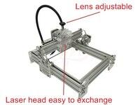 Disassembled LY 500mw Blue Violet Laser Engraving Machine Mini DIY Laser Engraver IC Marking Printer Carving
