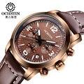 Cronógrafo Relógios Homens À Prova D' Água Multifunções Militar Esporte Relógio de Pulso para Homens Relógio de Quartzo relojes hombre montre horloge