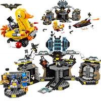 Bela 10636 Batman Movie Batcave Break in Man Bat Bricks 70909 Sets Building Block Toys Compatible With Legoings Batman