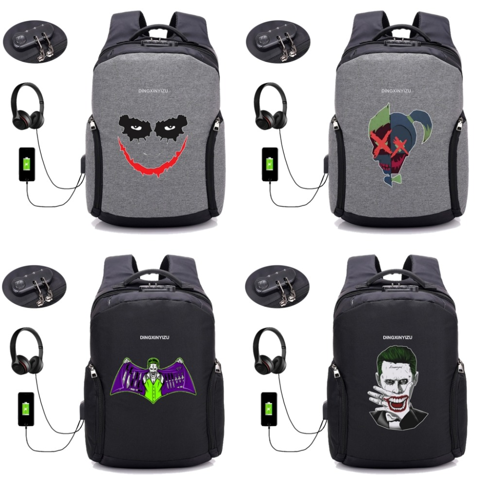 Suicide Squad Word Customize Casual Portable Travel Bag Suitcase Storage Bag Luggage Packing Tote Bag Trolley Bag