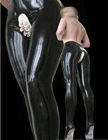 Donne Sexy in lattice nero Dei Pantaloni scarni delle calzamaglia per le donne notte wear cavallo aperto plus size vendita Calda Personalizzare Il servizio