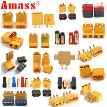 10 x Amasser XT60 + XT30U XT60U XT90 XT90-S MR60 MR30 XT60PW XT90PW XT30PW AS150 XT150 XT60-P MR30PB MT30 MT60 Connecteur (5 Paires)