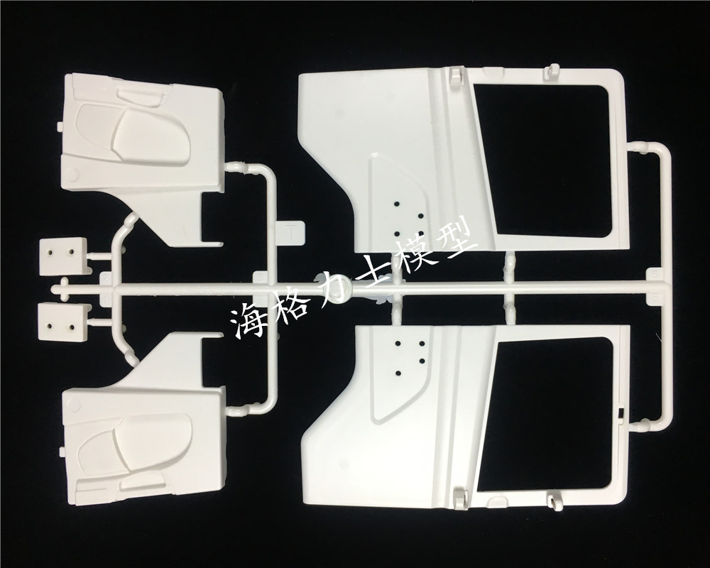 Remote control scania truck accessories car door decorative T plate set for tamiya 1/14 scale scania R620 56323 R470 R730