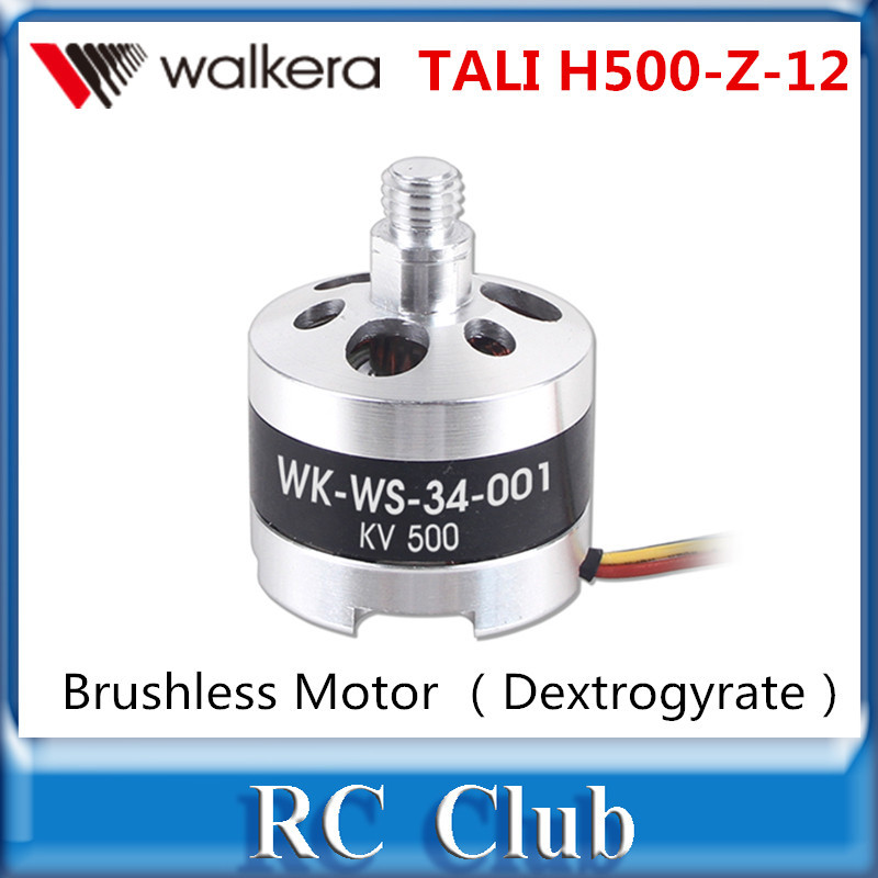Walkera TALI H500 RC Drone Parts Brushless Motor (Dextrogyrate thread)(WK WS 34 001) TALI H500 Z 12 Original Accessories