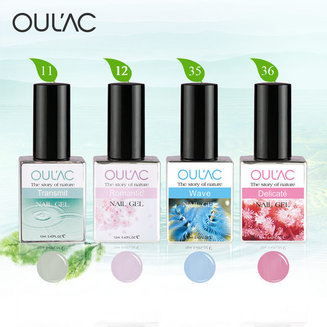 Oulac New Arrival Natural Series Nail Gel 100% Genuine Factory Gel Nail Polish