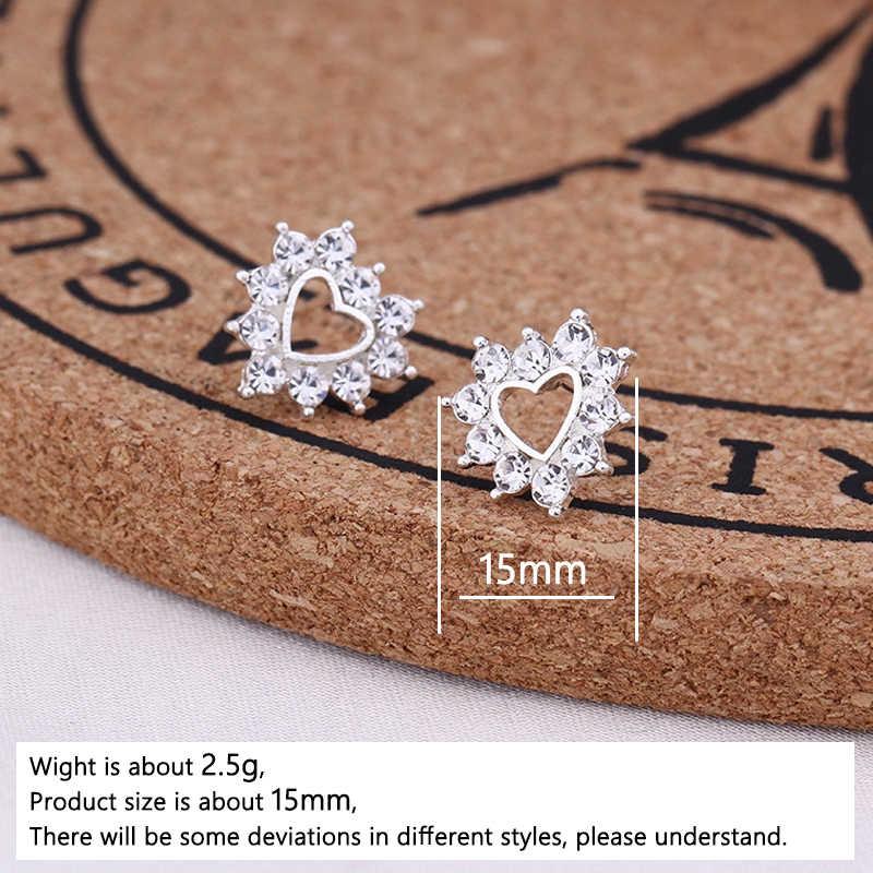 H: HYDE Edelstahl Cartoon Stud Ohrringe für Frauen Mädchen Minimalistischen Fuchs Katze Hedgehog Ohrringe Schmuck Tier Zubehör Geschenk