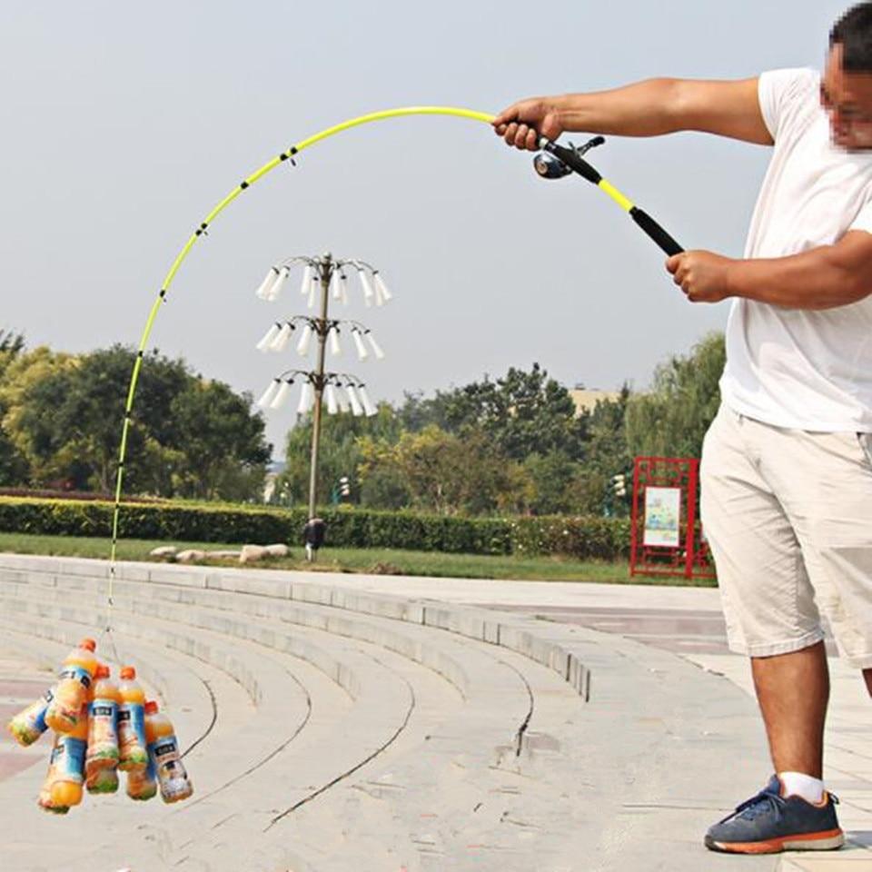 Strengthen Fishing Rod FRP Fiber Casting Spinning Rod 1.6M-2.1M M Adjustment Shrink Super Hard Outdoor Fishing Tool