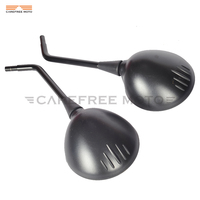 8mm Black Motorcycle Mirror Moto Side Rear View Mirrors Case For BMW R1200GS R1200 GS Adventure