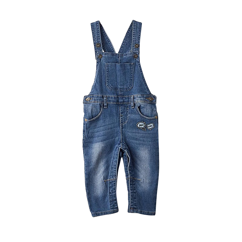 Overalls MODIS M182D00212 for baby boys kids clothes children clothes TmallFS charming knitted crochet fireman overalls photography clothes set for baby