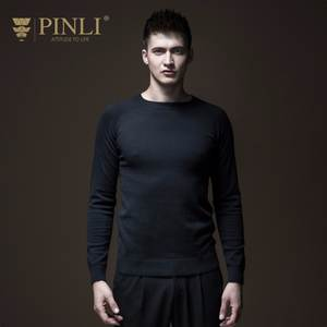 Pinli Men Sweater Coat Collar Cultivate Eden Park Men's New Round B183410482 Masculino