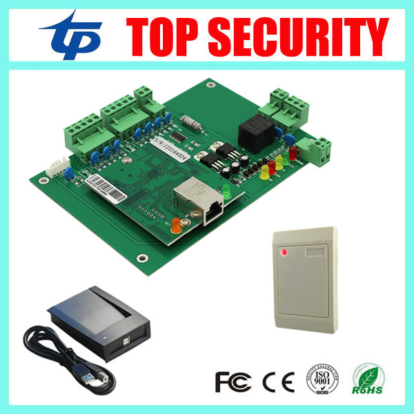 Good quality door access control board one door access control panel with RFID card reader and card register