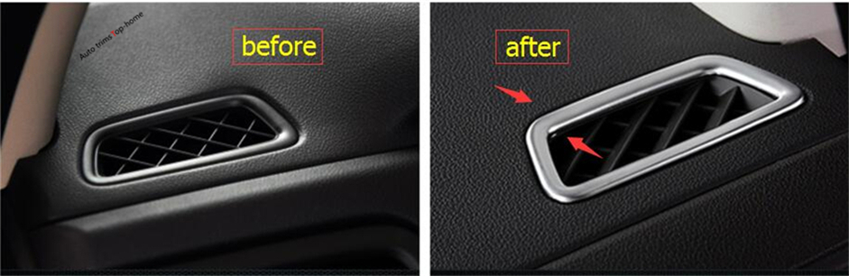Set Cheapest Price From Our Site Interior Mouldings Smart Yimaautotrims For Honda Crv Cr-v 2013-2016 Abs New Style Front Air Conditioning Ac Vent Outlet Cover Trim 2 Pcs