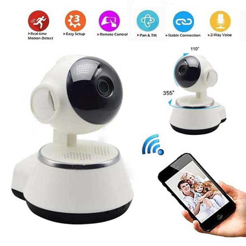 HD Wireless Security IP Camera WifiI Wi-fi R-Cut Night Vision Audio Recording Surveillance Network Indoor Baby Endoscope Monitor 3pcs set gator grip magical grip ratchet universal socket power drill adapter hand tool set repair kit socket wrench