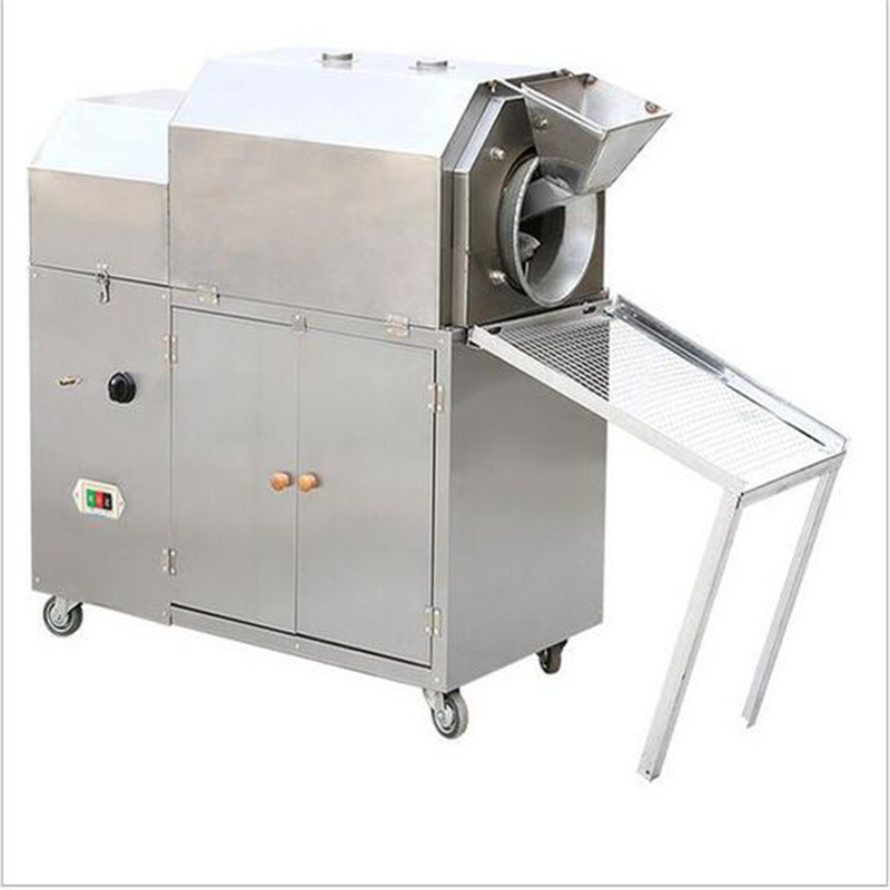 купить Commercial Chestnut Roasting Machine Gas Or Electric Chestnut Peanut Soybean Nut Roaster Factory Price Commercial Industrial по цене 65649.47 рублей
