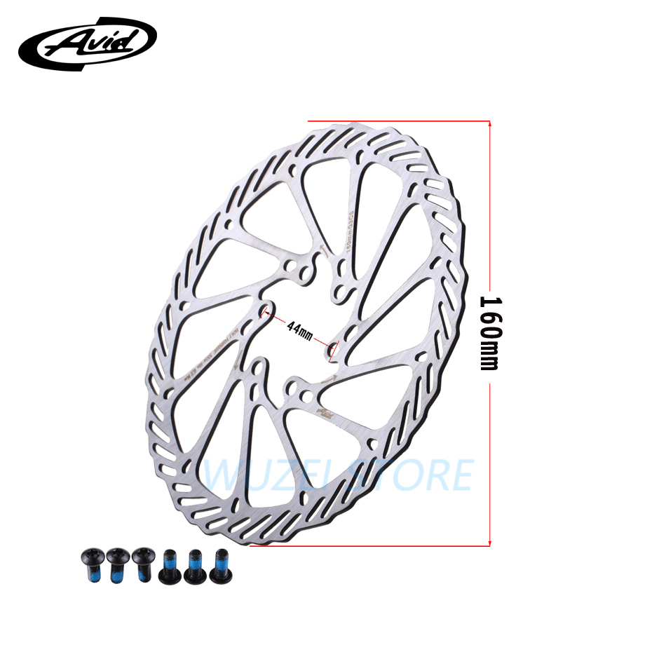 New Avid G3 CS Disc Brake Rotor 160mm for Shimano XTR Deore XT SLX Alivio