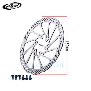 1 sztuka AVID G3 wirniki rowerowe Mountain Bike 203mm 180mm 160mm Road MTB hamulce tarczowe wirnik ze śrubami hydrauliczny hamulec tarczowy narzędzie tanie i dobre opinie Hydrauliczny hamulec tarczowy (hydrauliczny hamulec pad) STEEL Rowery drogowe 160mm 180mm 203mm