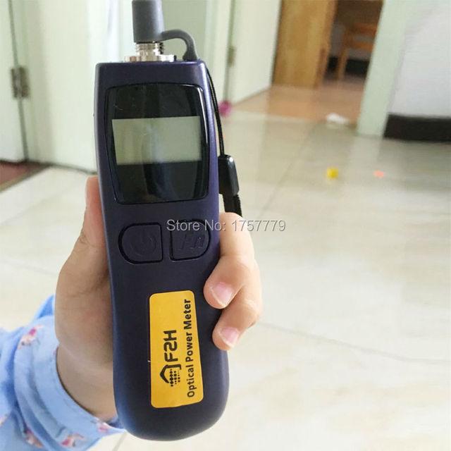 O Envio gratuito de Transmissão de Televisão-50 ~ + 26dBm FHP12B Handheld Mini Medidor De Energia De Fibra Óptica