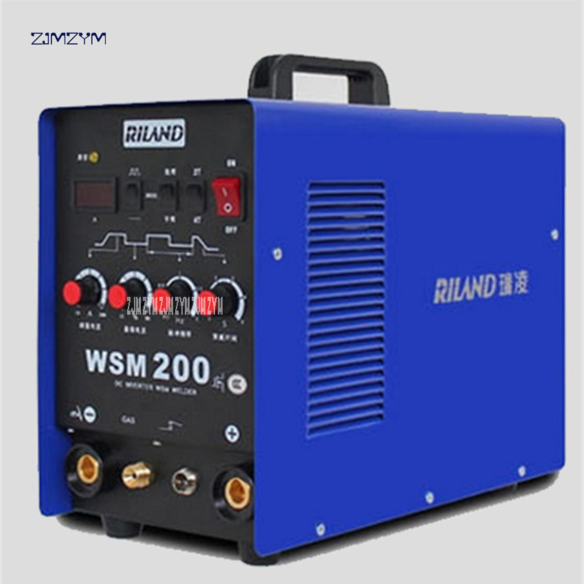 WSM-200A welding machine welding machine can be argon arc welding and welding Spot Welder 220V 50/60 Hz ,Current decay time 0-5S 5pcs lot argon arc welding machine repair welding inverter welding machine potentiometer screw cap 6 mm commonly used parts