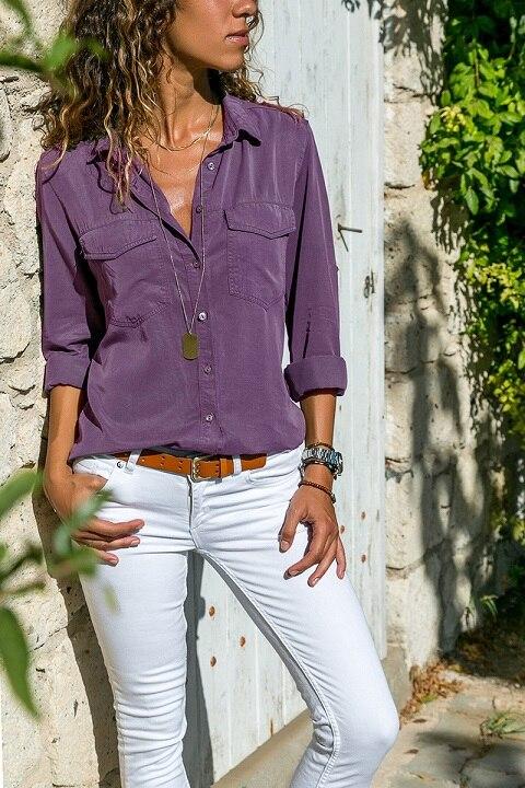 office blouse women plus size 5XL long sleeve blusas mujer de moda 2018 tallas grandes spring autumn shirt top women blouse15