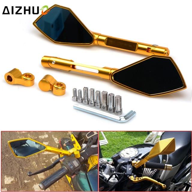Motorcycle Accessories Rearview Mirror Motorbike Side Mirror FOR YAMAHA XV 950 RACER TDM 900 MT 125 MT-01 YBR 125 R15 XP500 530