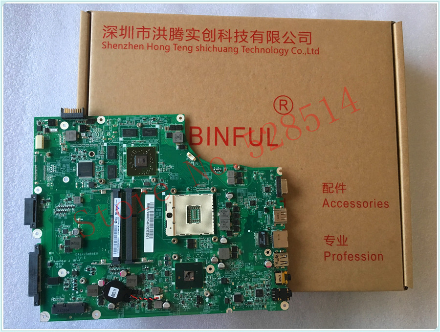 Original FOR ACER  FOR 5820 5820G laptop motherboard DAZR7BMB8E0 100% work perfectly