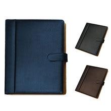 Переносная папка для Конференции Органайзер большой емкости сумка для хранения Модный Бизнес 3 цвета