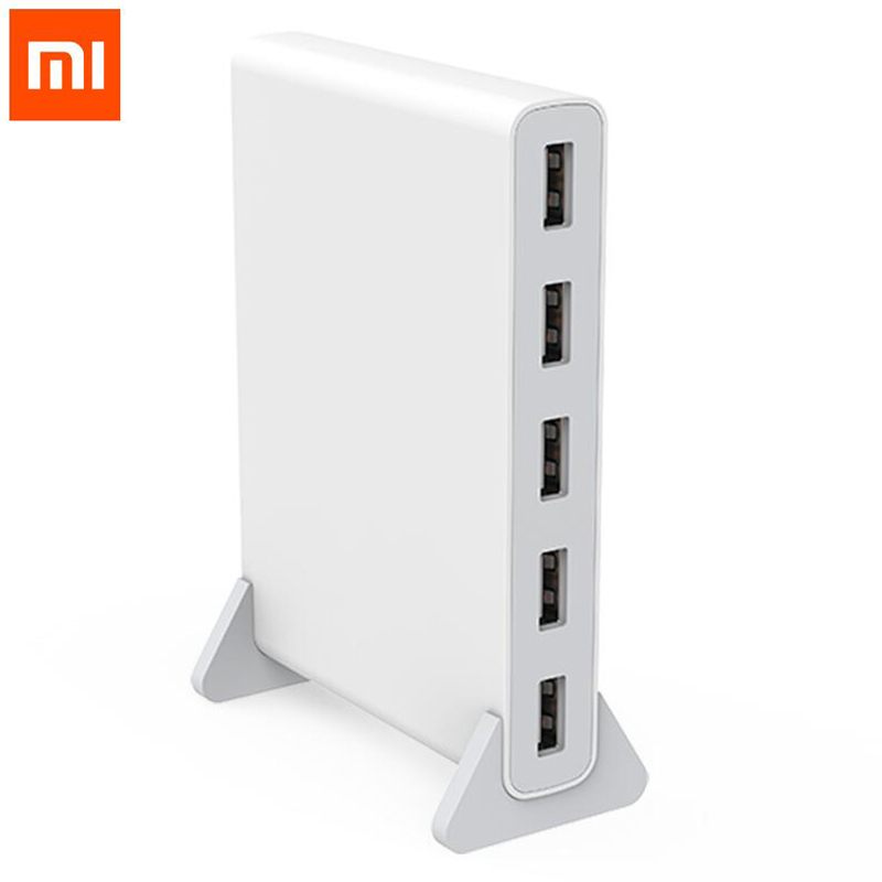 New arrival Original Xiaomi qingmi 5 Ports USB Power Charger Adapter Charging Station Portable Power Strip