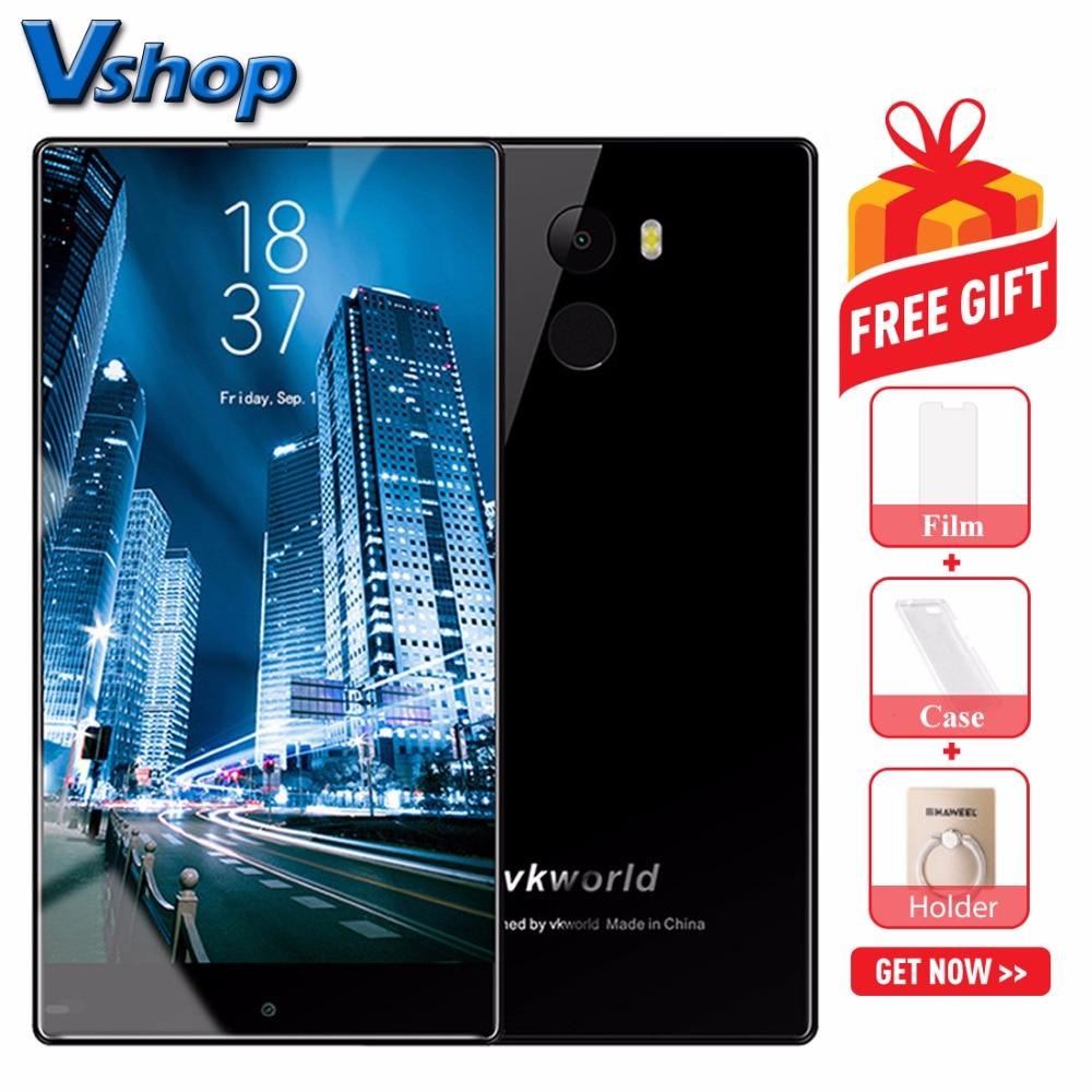 Original Vkworld MIX Plus 4G Mobile Phones Android 7.0 3GB+32GB Quad Core Smartphone 5.5 Inch Full Screen Dual SIM Cell Phone
