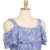 2015 de verão da europa mulheres Sexy de Slash Neck Halter Strapless Top Ruffles fina era fina Floral impressão camisola chemise femme BG786
